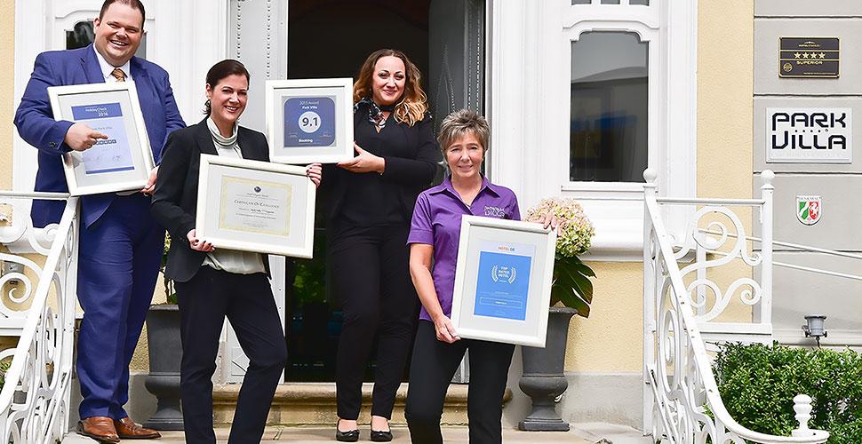 Auszeichnungen der Parkvilla