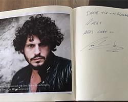 Manuel Cortes übernachtet in der Park Villa Wuppertal
