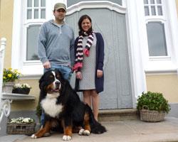 Martin Rütter in Wuppertal mit Hund der Park Villa