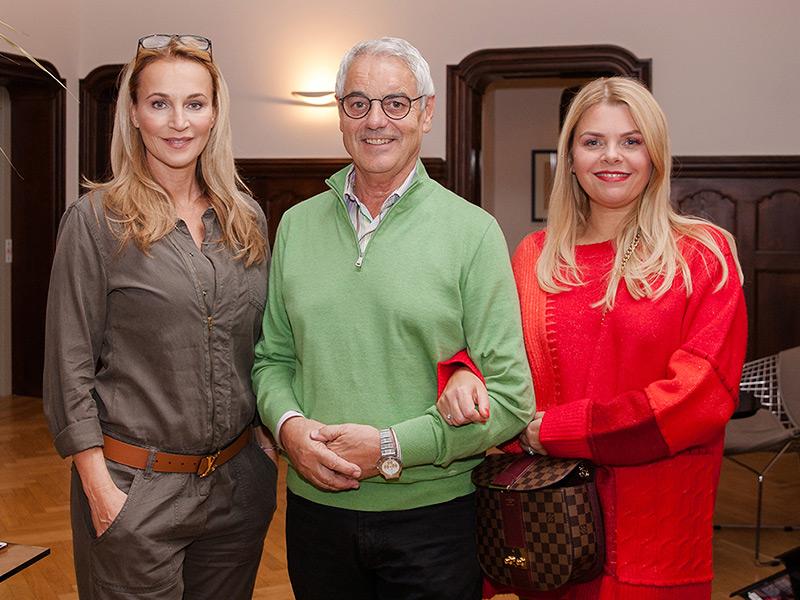 Caroline Beil und Anne-Sophie Briest zu Gast in der Park Villa Wuppertal