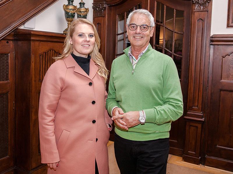Patricia Kelly zu Gast in der Park Villa Wuppertal